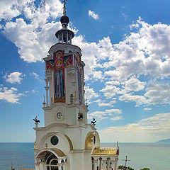 "фото ""И церковь, и маяк."""
