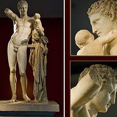 "фото ""The Hermes of Praxiteles"""