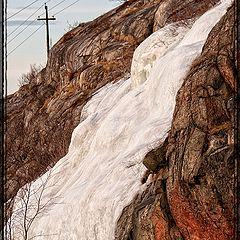"""photo """"Glacier of local area"""""""