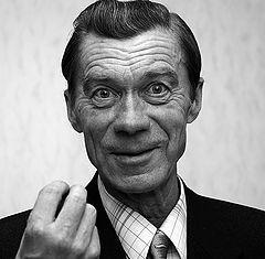 """фото """"Портрет серьезного человека не любящего фотографироваться"""""""