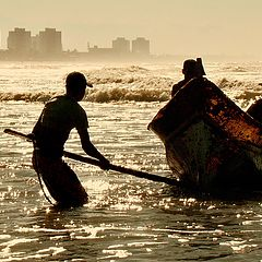 """фото """"End of the fishing..."""""""