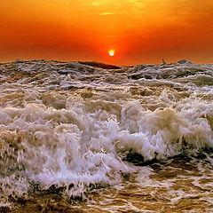 """фото """"(n+1) вал на пляже Арамболя ."""""""