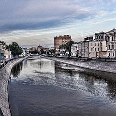 "фото ""Унылая весення Москва"""