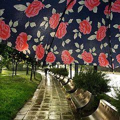 "фото ""Raindrops keep fallin' on my head..."""