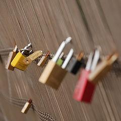 """фото """"Locked hearts"""""""