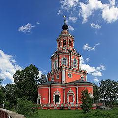 "photo ""Beautiful church. 17 Century"""