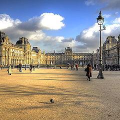 """фото """"Лувр, Париж"""""""