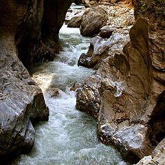 """фото """"Lichtensteinklamm Gorge"""""""