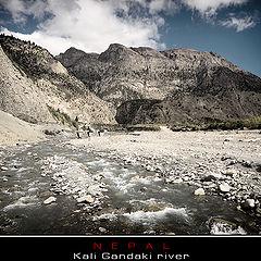 "photo ""Nepal. Kali-Ghandaki river"""