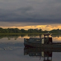 "photo ""Boat and the skipper"""