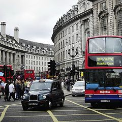 """фото """"Red Buses or Piccadilly Circus"""""""