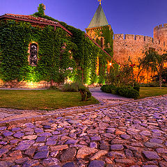 """photo """"Church and fortress"""""""