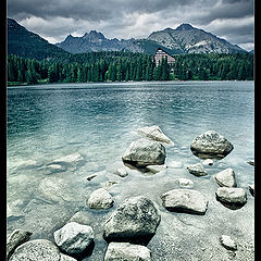 "photo ""Strbske Pleso"""