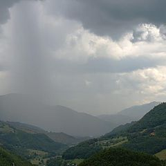 "photo ""Rain in the mountains"""