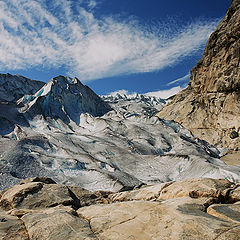 "фото ""Голубой ледник 2"""