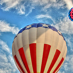"photo ""Hot air baloon show"""