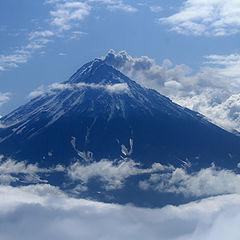 "photo ""Koryaksky volcano"""