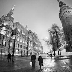 """photo """"At the Kremlin (2)"""""""