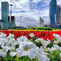 "фото ""Цветущая Астана"""