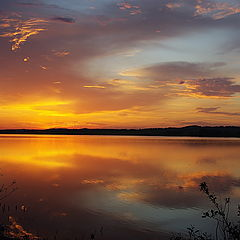 "фото ""Восход над рекой Калмаш"""