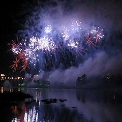 """photo """"Beautiful fireworks"""""""