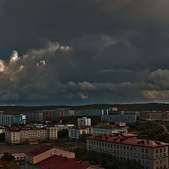 "photo ""Autumn storm"""
