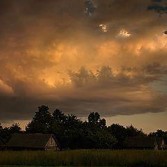 "photo ""Autumn Clouds"""