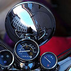 "photo ""Reflection Over Bike"""