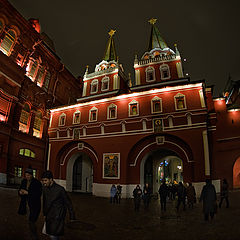 "photo ""Night walks at the Kremlin"""