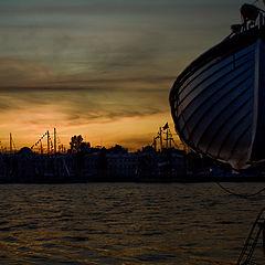 """фото """"Вечер в порту"""""""