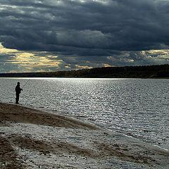 """фото """"Рыбак и осень..."""""""