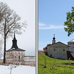 "photo ""Kirillo-Belozersky a monastery. Winter and Summer"""