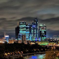 """фото """"Москва-Сити"""""""