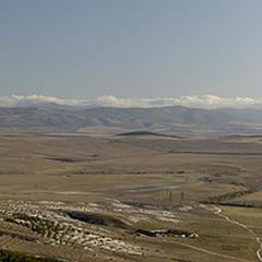 """фото """"Крым. Белогорский район. Вид с горы Акъ-Кая"""""""