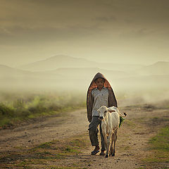 """photo """"shepherd boy"""""""