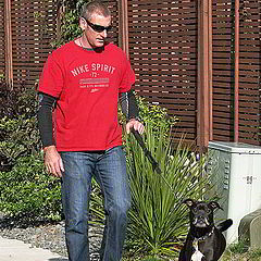 """photo """"Walking the Dog"""""""
