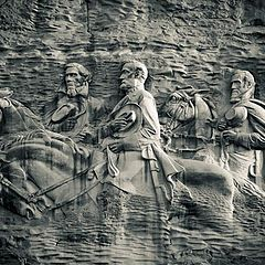 "фото ""Stone Mountain Carving"""