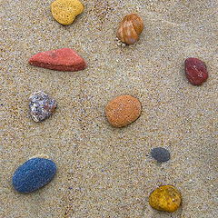 """photo """"Time to collect stones."""""""