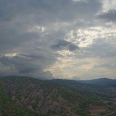 "фото ""Облака над горами"""