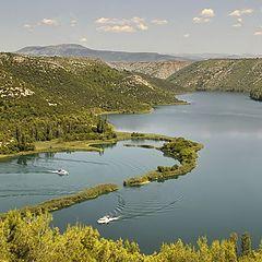 "фото ""Адриатика. Река Кирка. (Хорватия)"""