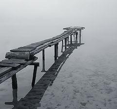 """фото """"Мостик в туман"""""""