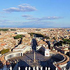 """фото """"Взирая на Рим со Святого Петра"""""""