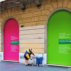 "фото ""United colors of Benetton или соло для саксофона"""