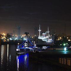 """фото """"Вечерние огни Калининграда"""""""