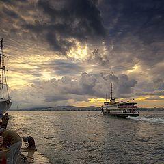 "photo ""morning ship"""