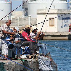 """photo """"fishermen at work"""""""