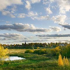 """фото """"Осень в Суздали (вид из Кремля)"""""""