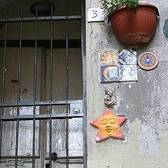 """photo """"Genoa, on the old street"""""""