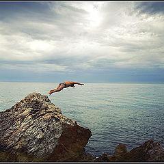 """фото """"Прыжок в неизвестность"""""""
