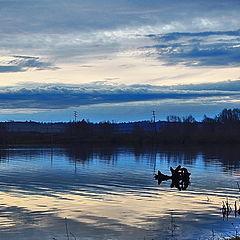 "фото ""Вечер на реке Калмаш"""